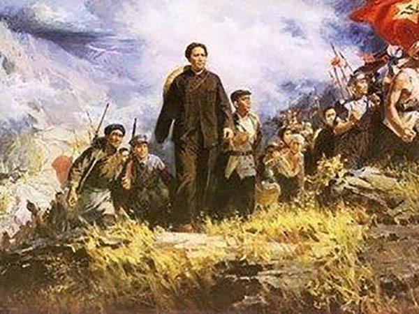 毛泽东在安源